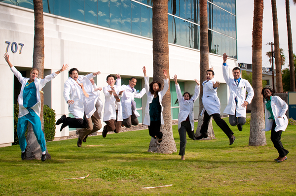 Happy UA med students
